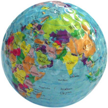 3pcs  hot selling world globe map golf ball