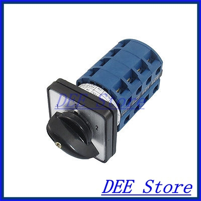 AC 660V 25A 16 Terminals 3 Positions Latching Rotary Cam Changeover Switch<br><br>Aliexpress