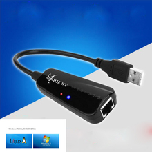 USB 2.0 10/100 Mbps Ethernet USB To RJ45 Wired Network Card Lan Adapter Hub for Windows 7/8/10/Vista/XP Linux PC