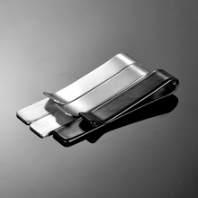 FUNIQUE Fashion Classic Men Tie Pin Clips of Casual Style Black & silver color Tie Clip Exquisite Wedding Tie Clips Men Tie Bar(China)