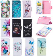 Buy Luxury PU Leather Case Coque Sony Xperia L1 Case Flip 5.5 Inch Stand Wallet Cover Fundas Sony E6 Sony L1 Case Capa for $4.99 in AliExpress store