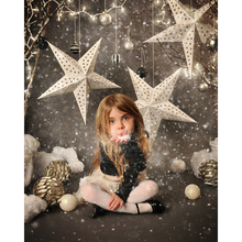 Buy Vinyl Photography Background Snowflake Christmas star Computer Printed children Photography Backdrops Photo Studio F-2213 for $11.80 in AliExpress store