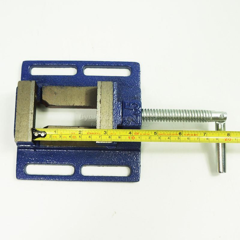 CNC Bench clamp Jaw 2.5 inch mini table vice plain vice parallel-jaw vice for engraving machine<br>
