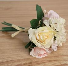 K16157 Peronas rose Bouquet Wedding Silk Flower Decorative Bonsai Artificial flowers Valentine's Day discount(China)