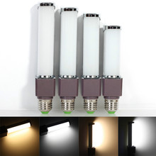 High Power LED Spotlight 8W/10W/12W/14W  AC85-265V G24 / E27 Base Led Light Horizontal Plug Lamp SMD 5730