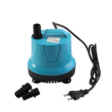 2 Types Plastic 2000L/H Fish Tank Aquarium Water Aquarium Fish Tank Ponds Pool Submersible Water Pump With EU Plug(China)