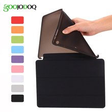 For iPad Pro 9.7 Case,for Apple iPad Mini 1 2 3 Smart Cover with TPU Silicone Soft Shell Slim PU leather Stand Funda Coque