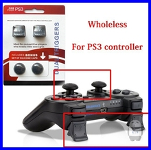 For Sony PS3 Playstation 3 Game Controller Dual Triggers Enhancements for Dualshock 3 Silicone Protective Caps Game Accessories