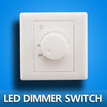 LED SCR dimmer switch 630W AC 220V Adjustable Controller LED Dimmer Switch For Dimmable panel light Downlight Spotlight(China)