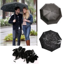 Free shipping  Star Map Starry Sky Folding Umbrella  Constellation women mini Umbrella