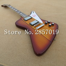 2016 new + factory + custom firebird electric guitar sunburst  bird guitar free shipping