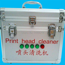 Eco solvent UV printhead cleaner bath for Epson DX4 DX5 DX6 DX7 SPT 510 1020 Gen4 Konica cleaning machine