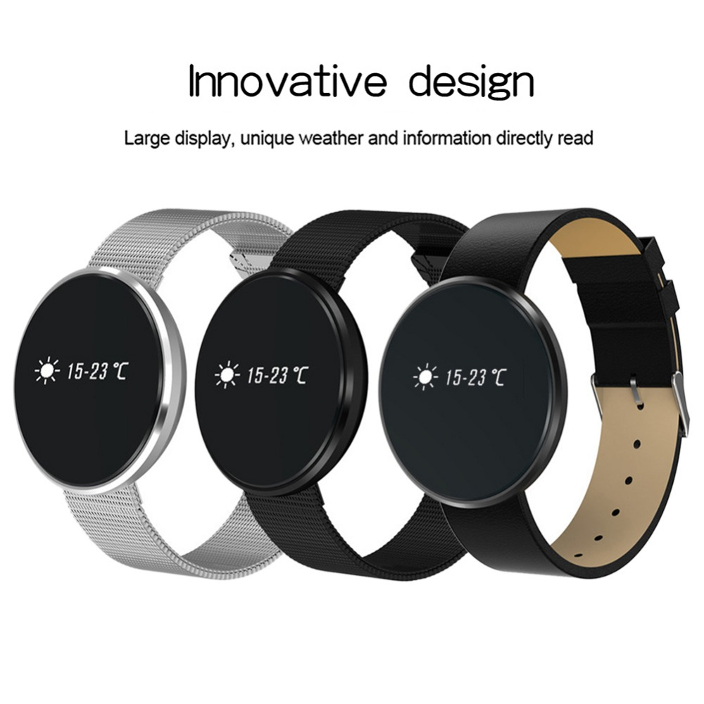 Smartband for Android IOSBlood Pressure Tracker Fitness Bracelet Watch Wristband OLED Touchpad Sleep Monitor Heart Rate Tracking
