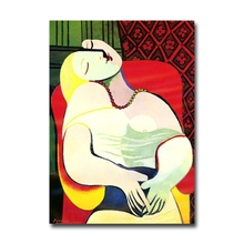Hot sale Spain Picasso paintings dream fine art fridge magnet home decoration magnetic stickers gift free shippping(China)