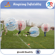 Summer Outdoor Bubble Football Inflatable Human Hamster Ball 1.5m TPU Air Bumper Body Ball, Bubble Soccer Zorb Ball For Sale