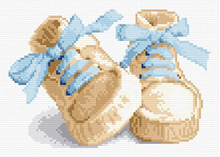 5D diamond embroidery diy diamond Painting baby shoes pictures diamond mosaic Christmas gift diamond picture children home decor(China)