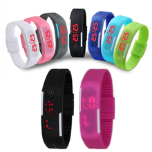 Fashion LED Sport  Digital Watch Children Watches For Girls Boys Waterproof Wrist Students Clock Lovers' Wristwatch Relogio