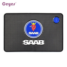 Auto Car-Styling Interior Accessories Mat Car Stickers Badge Case For Saab 03-10 9-3 9-5 93 95 9000 900 428 Emblems Car Styling(China)