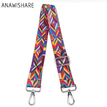 ANAWISHARE Handbag Belt Wide Strap Shoulder Bag Strap Replacement Handbag Strap Accessory Bag Part Adjustable Belt For Bag 120cm(China)