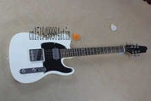 Guitar, Electric Guitar, Jim Root Signature Telecaster Guitar, Locking Tunner, Mahogany Body, White guitar @6(China)