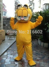 2017 hot sale Garfield Mascot costume Adult size Garfield Mascot costume Free shipping