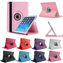 New 태블릿 Coque 대 한 iPad mini 4 Case 360 Rotation Flip 서 A1538 A1550 보호 Cover 대 한 iPad mini 4 smart Cover(China)