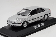 1:43 VOLVO S 80 Classic Sedan Alloy Model Diecast Cars Toy Vehicles Limited Edition Craft Miniatures