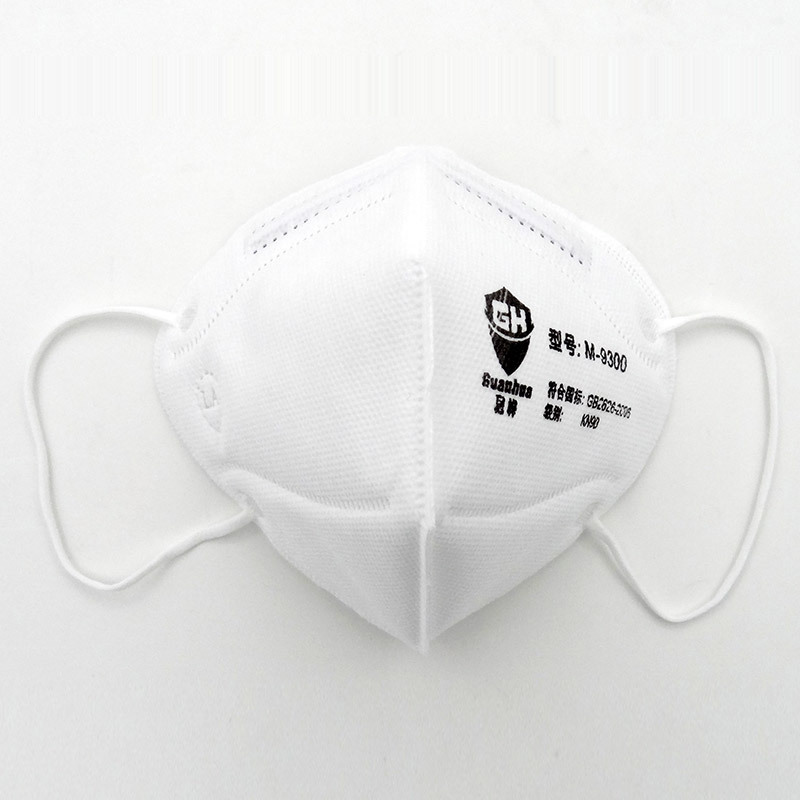 New respirator dust mask9300 ear wear/wearing a respirator mask white anti - dust filter cloth respirator10 / package only<br><br>Aliexpress