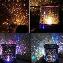 Romantic LED Starry Night lights  Sky Star Projector Lamp light Kids Gift Cosmos star Master stars lamps