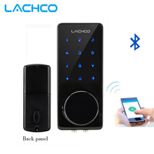 LACHCO Smartphone Bluetooth Door Lock APP Combination, Code Touch Screen Keypad Password Smart Electronic Lock L16076BAP(China)