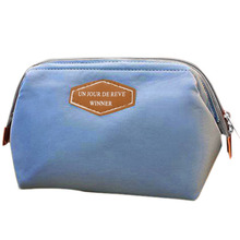 Beauty Travel Cosmetic Bag Pouch Toiletry (Sky Blue)(China)