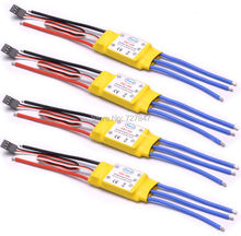 NEW 30A Brushless ESC helicopter multicopter Motor Speed Controller RC ESC for F450 S500(China)