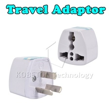New arrival Universal US Plug Charger Power Adapter 3 pin US Converter to US/AU/EU/UK Travel Adaptor For New Zealand Australia