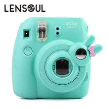 lensoul Lovely Rabbit Model Close-Up Lens Self-Portrait Mirror for Fujifilm Instax Mini 8 Mini 7S Instant Film Camera 4 Color