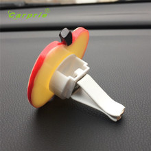 Car multiflora Apple Air Outlet Fragrant Perfume Clip Air Freshener Diffuser Perfume solido Solid Perfume styling hot 17july19