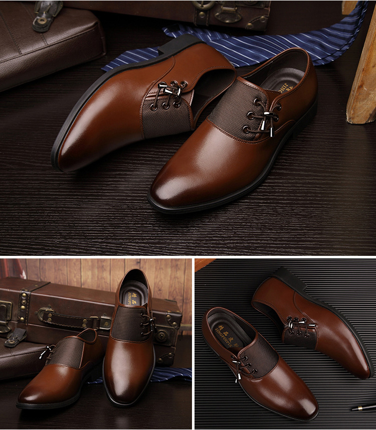 Elegant British Masculino Shoe