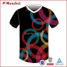 FREE SHIPPING 100% polyester China football shirt,V neck soccer shirt new soccer uniform
