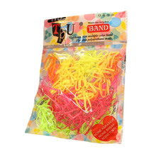 2bags/pack Hot-selling girls hair bands Small rubber band Mix color princess hair accessories Good hair loop(China)