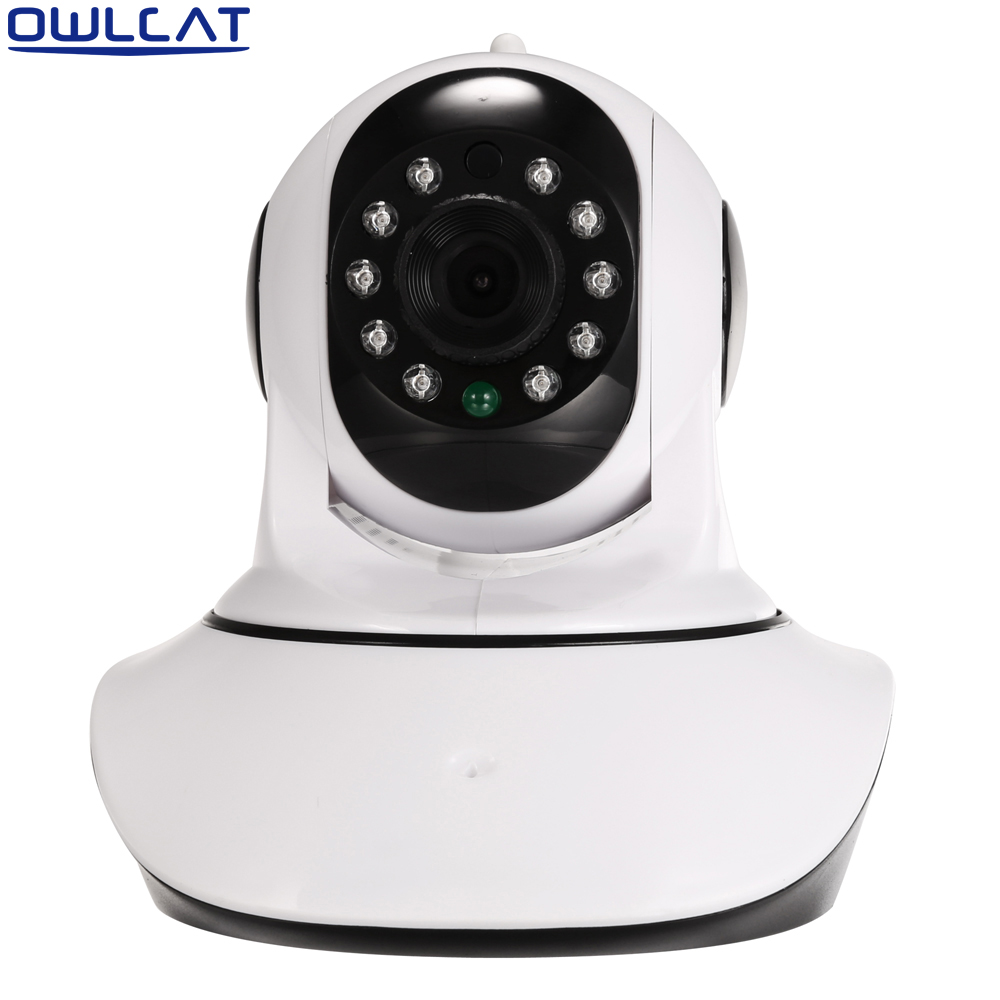 HD 720P 3.6mm Auto Zoom lens Dome Security CCTV Wireless IP Camera Wifi Pan/Tilt IR cut Onvif Night Vision Micro SD Card<br>