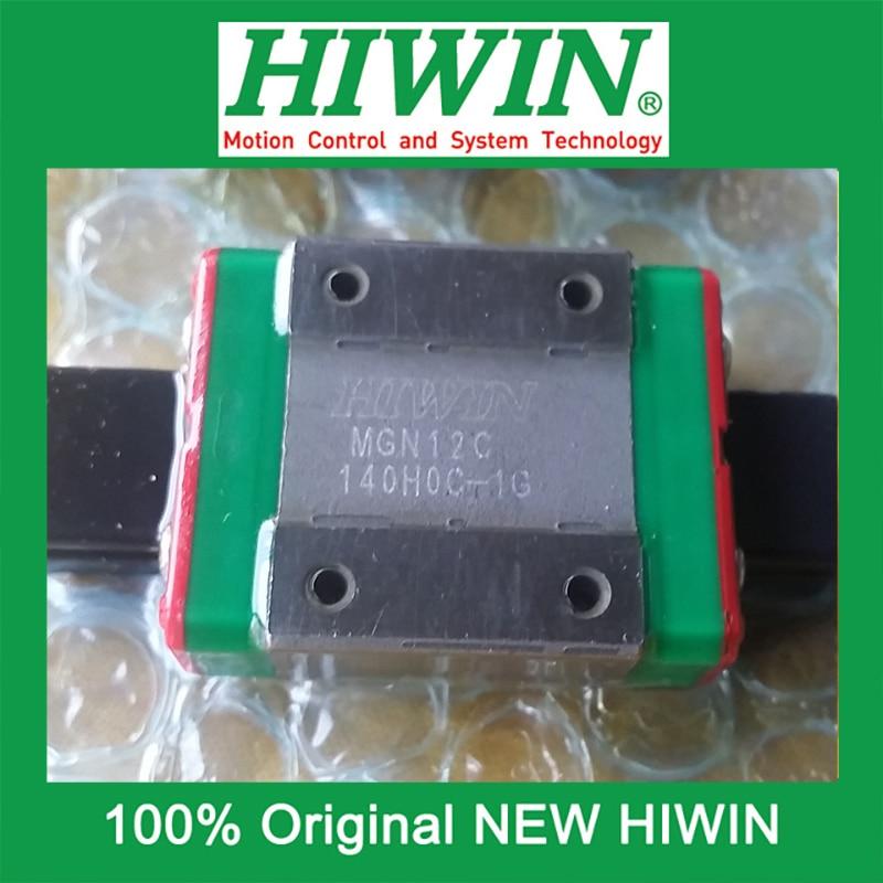1pcs HIWIN MGN12 MGN12C MG12 New original linear guide block Original HIWIN Linear Guide CNC Parts Stock Good<br><br>Aliexpress