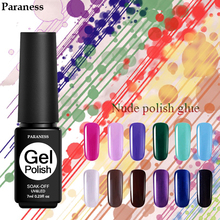 Paraness 7ML Gel Nail Polish Soak Off UV LED Gel Varnish Art Long Lasting Nail Gel Lacquer Acrylics Semi Permanent(China)