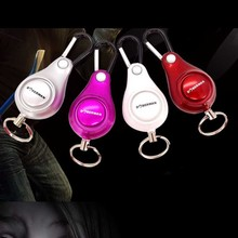 Women 's self Defense Anti-Wolf Pull Point Backpack Personal Alarm Siren Ring Pull Key Pendant FC(China)
