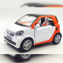 1/32 Diecasts&Vehicles MINI COOPER flashing pull back Mercedess Benzz smart alloy car model(China)