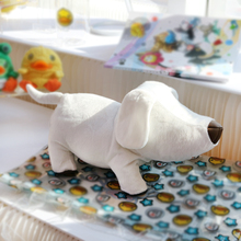 Semk Plush Doll Toy Dog Plush Roll Paper Holder Tissue Boxes Extraction Household Product(China)