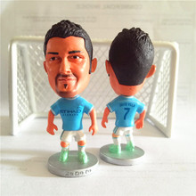 Soccerwe Stand 7 David Villa Doll (New York City Classic ) Sky Blue