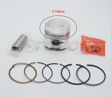 39mm For PIAGGIO 50CC 4t 2 Valves High Performance Alloy Motorcycle Cylinder Piston Kit(China)
