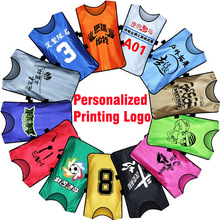 Benwon - Kid's personalized soccer group against bibs football training vest customized soccer shirt sports group against vest