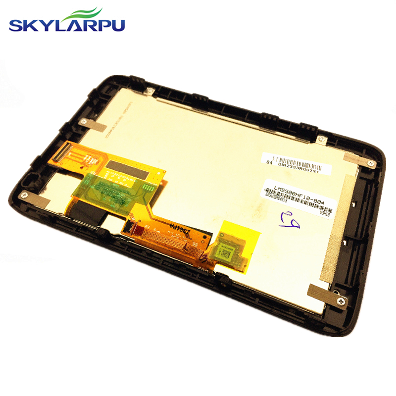 skylarpu 5.0 inch LMS500HF10-004 LCD screen for TomTom GO 4CQ01 GPS navigation LCD display Screen with Touch screen digitizer<br>