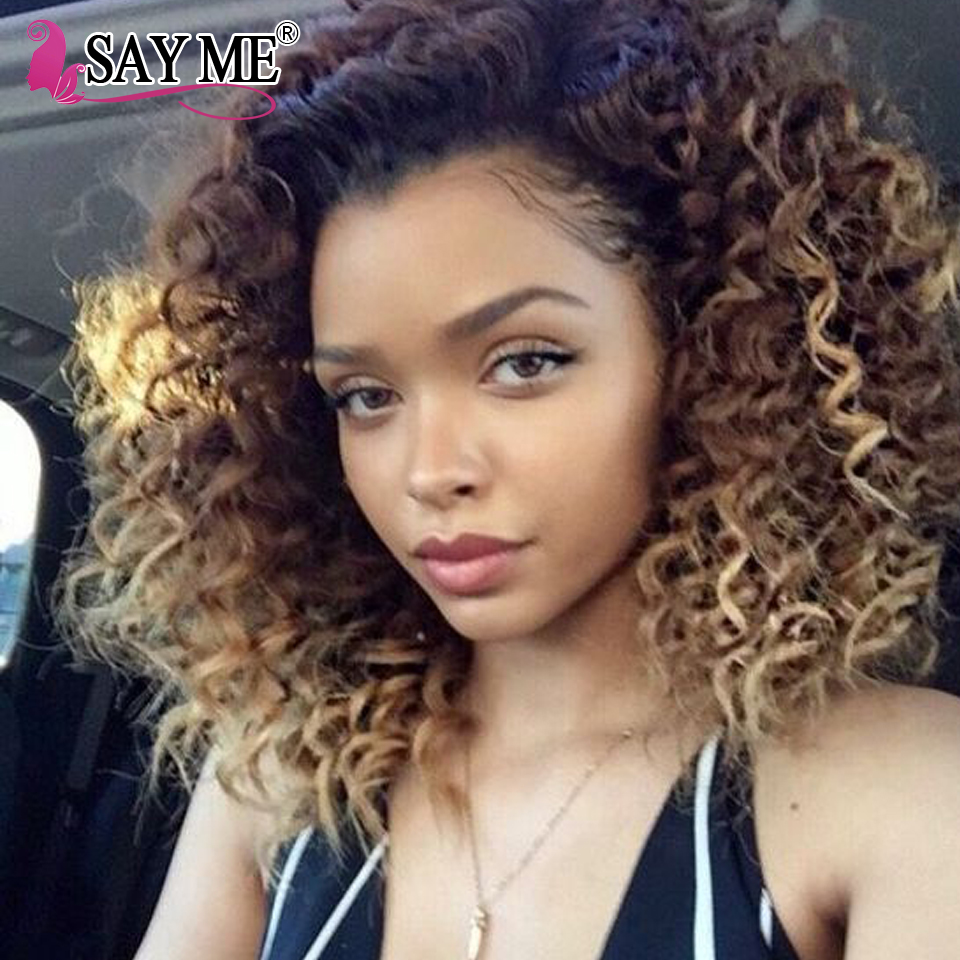 NEW 8A Ombre Virgin Brazillian Curly Hair 4 Bundles 1B 27# Black And Blonde Ombre Two Tone Brazilian Weave Hair Curly Human Hair<br><br>Aliexpress
