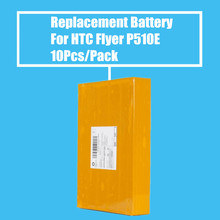 New Arrival 10Pcs/pack 4000mah Replacement Battery for HTC Flyer P510 P510E High Quality